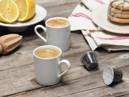 Mugs with Nespresso Coffee