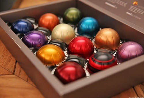 Nespresso Machine Capsules in Box