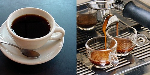 what is the difference between coffee and espresso