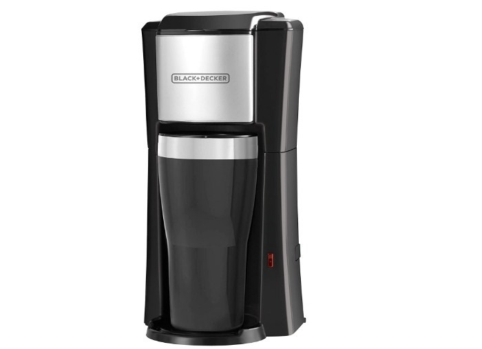 Black Decker Single Serve Coffeemaker Black