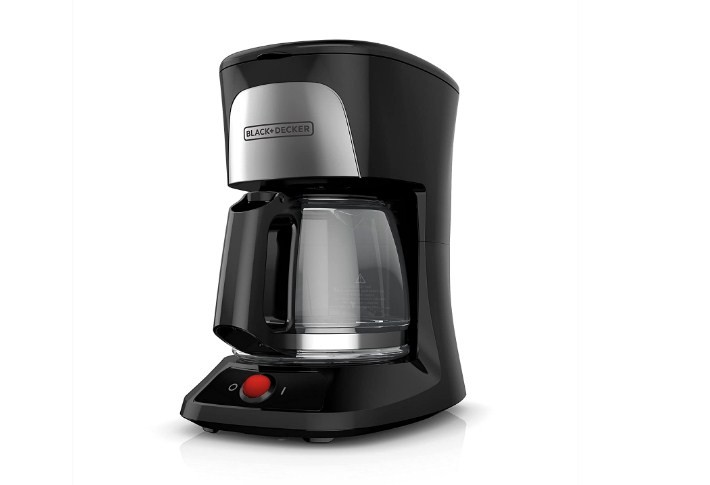 Black+Decker 5-Cup Coffeemaker With Duralife Glass Carafe