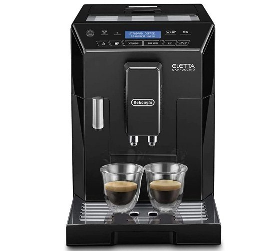 Delonghi Super-Automatic Espresso Coffee Machine With An Adjustable Grinder