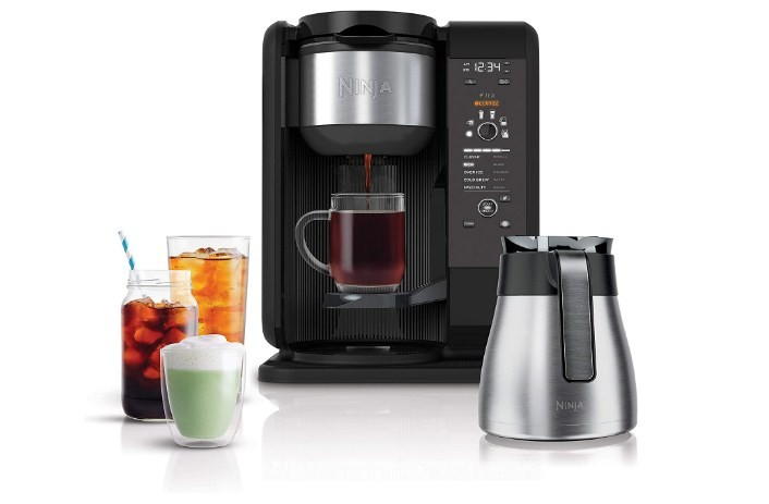 Ninja Hot and Cold Brewed System Coffee & Tea Baskets with Thermal Caraf