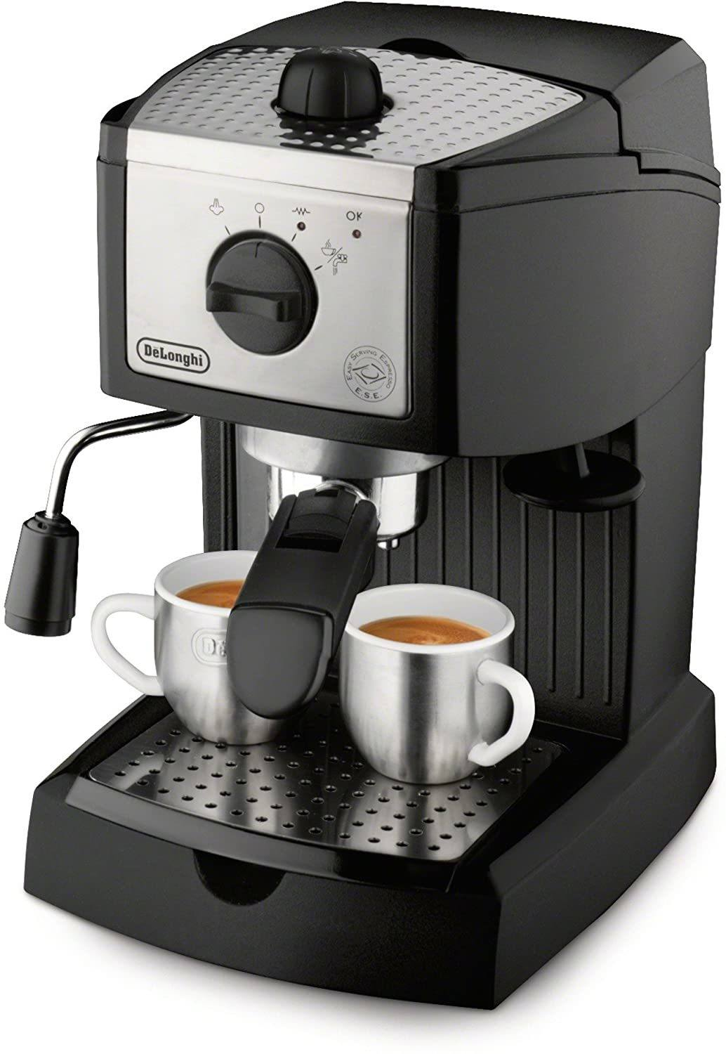 De'Longhi EC155 15 Bar Pump Manual Espresso and Cappuccino Maker