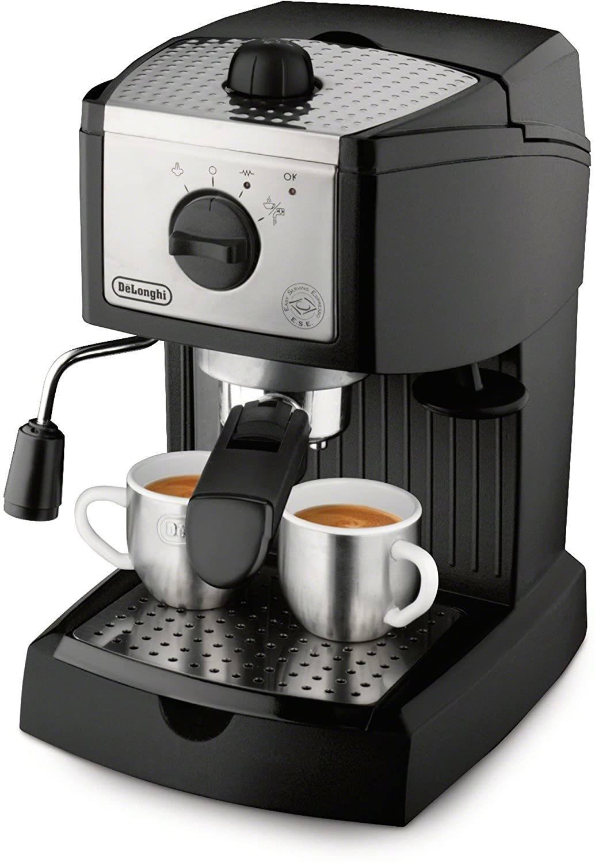 De'Longhi EC155 15 Bar Pump Manual Espresso and Cappuccino Maker
