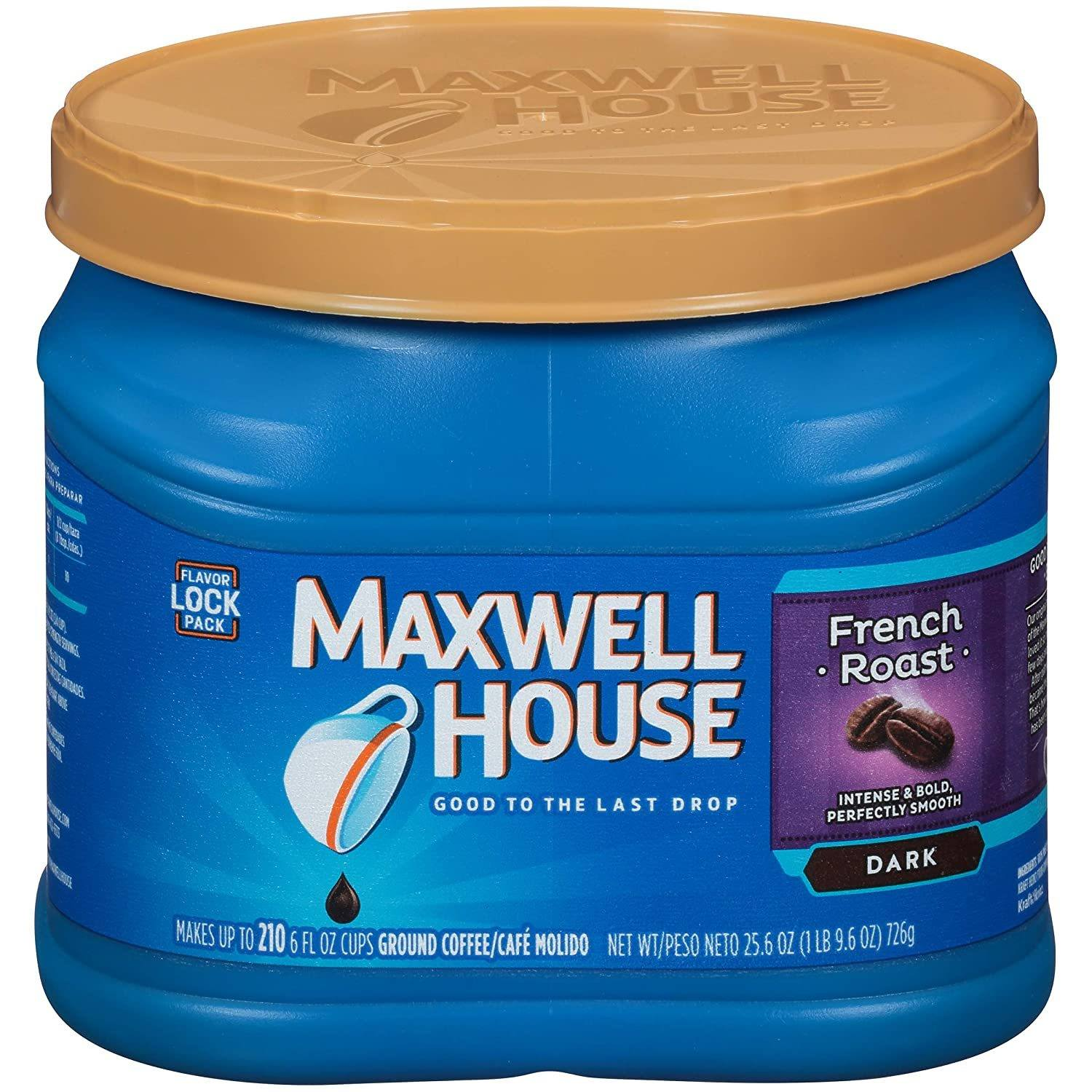 Maxwell House French Roast Dark Roast Ground Coffee