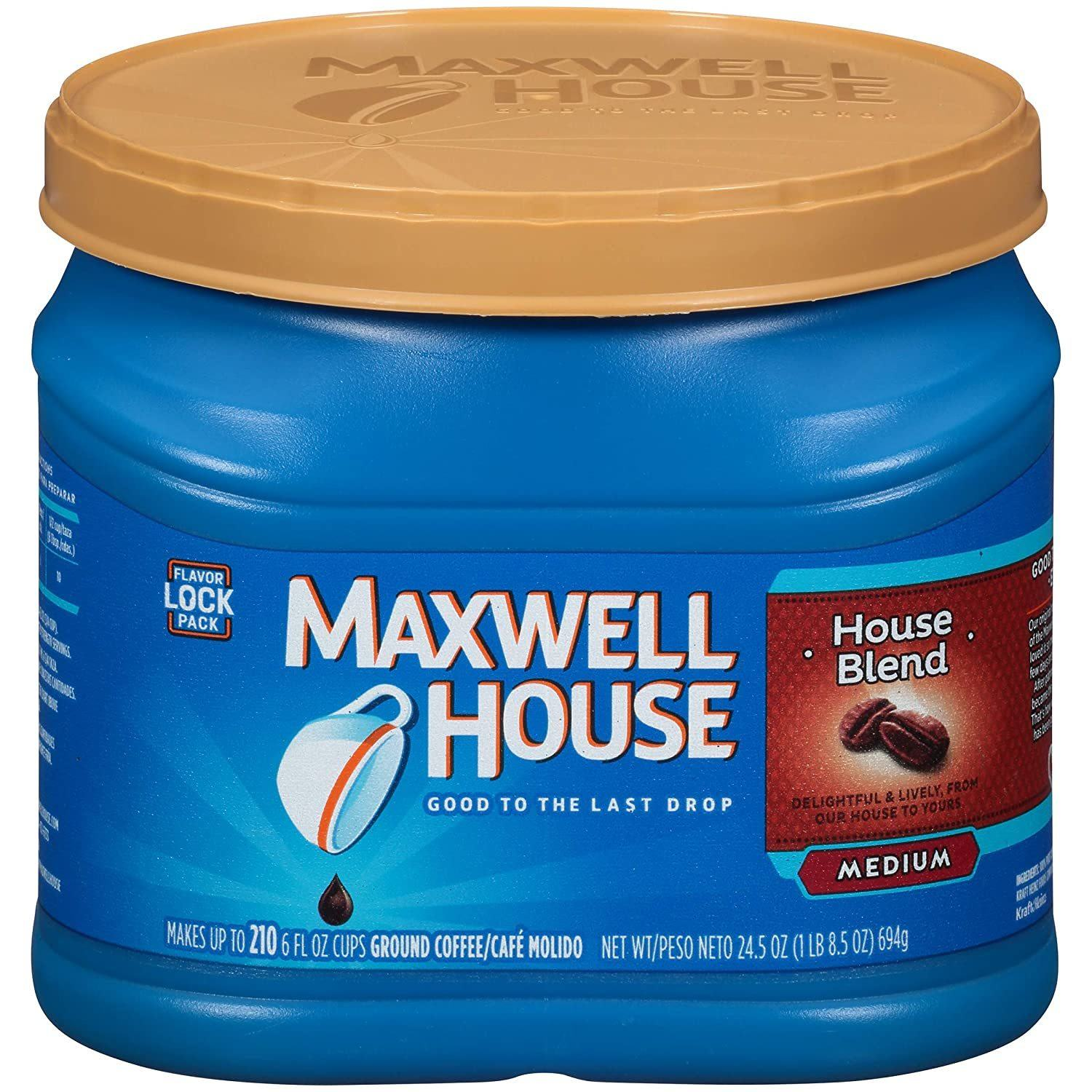 Maxwell House House Blend Medium Roast Ground Coffee