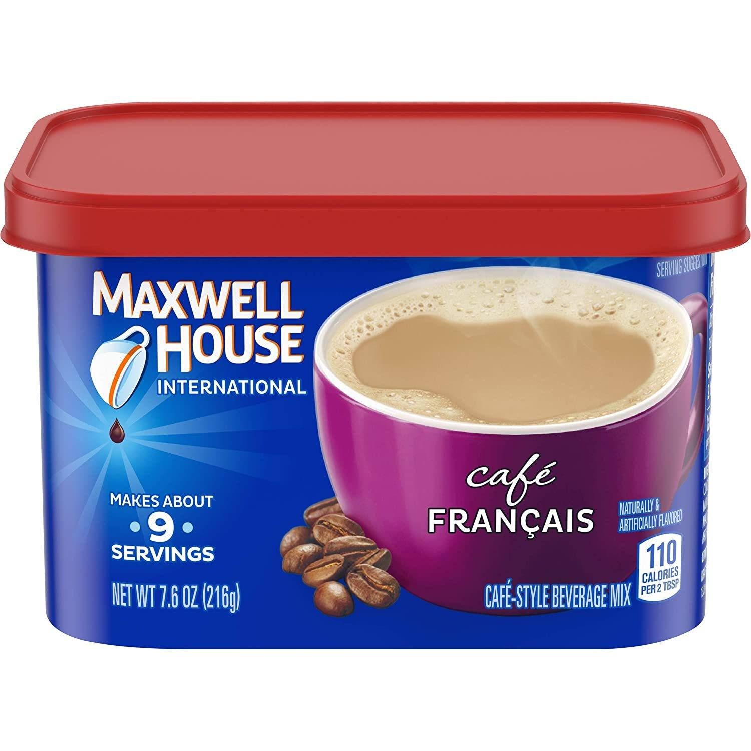 Maxwell House International Cafe Francais Style Instant Coffee
