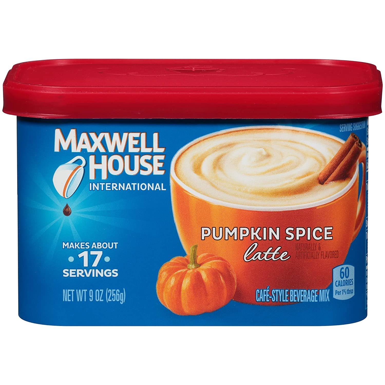 Maxwell House International Pumpkin Spice Latte Instant Coffee