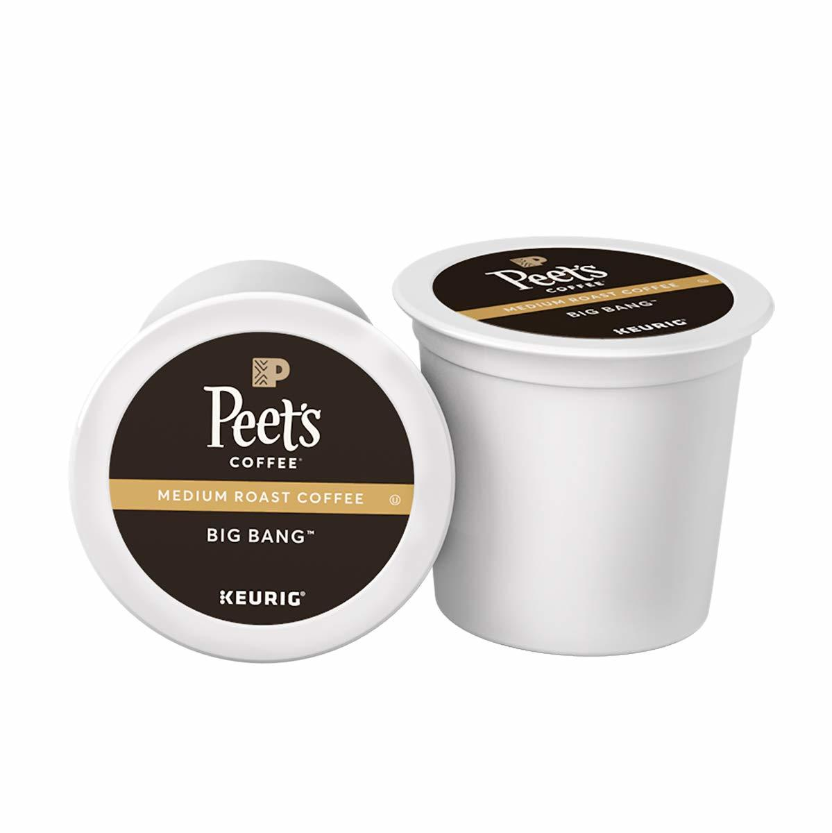 Peet's Coffee Medium Roast Big Bang K-Cup Coffee Pods