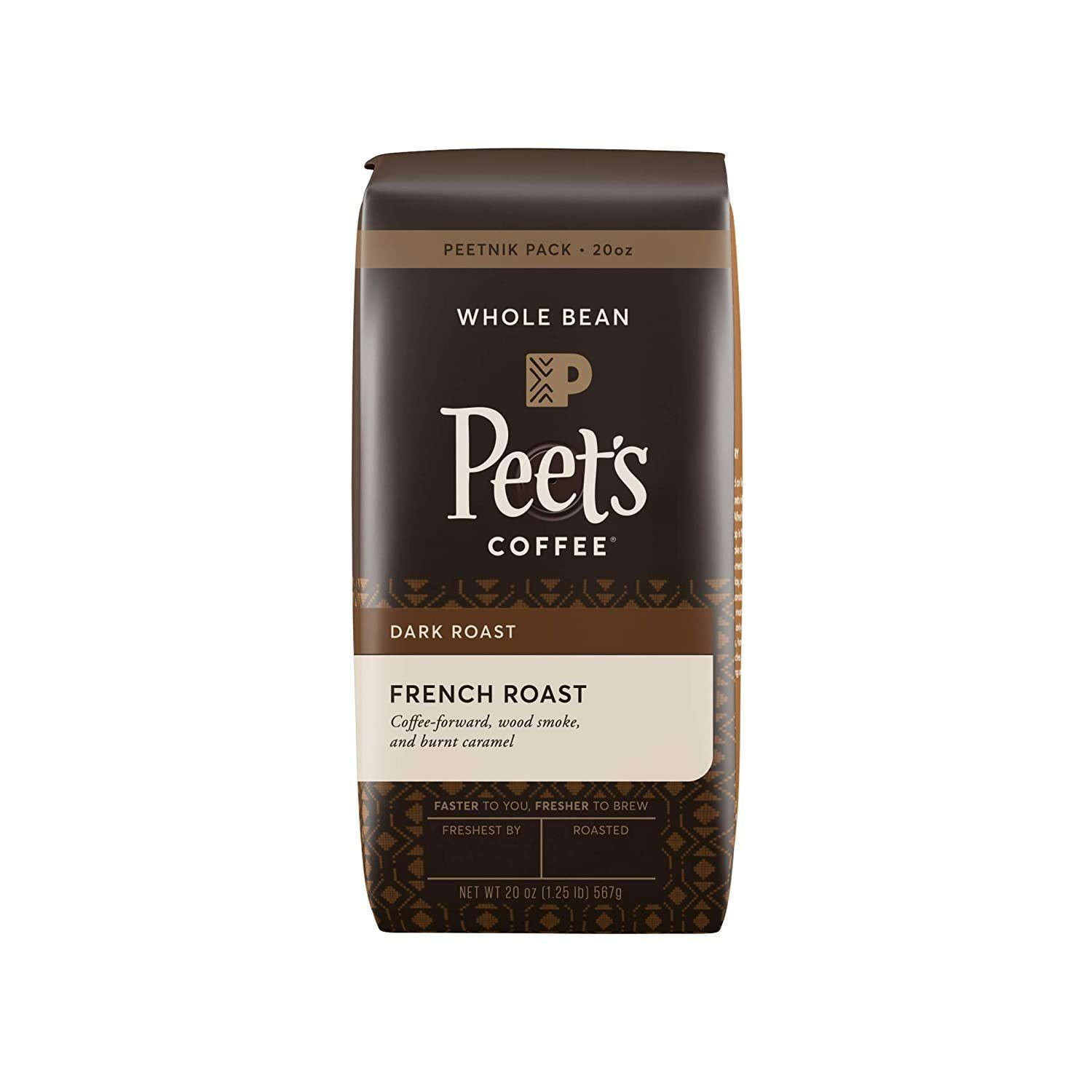 Peet's Coffee Whole Bean French Roast Coffee