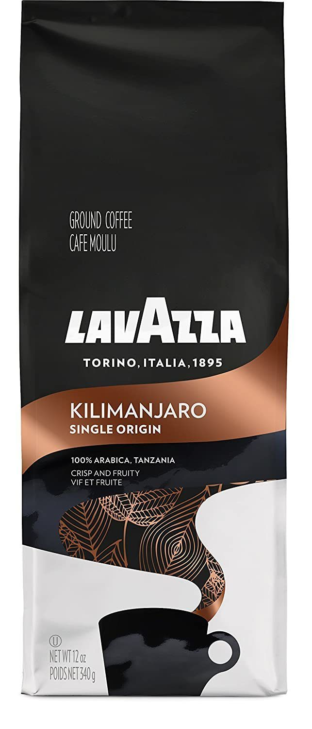 lavazza single origin kilimanjaro ground coffee