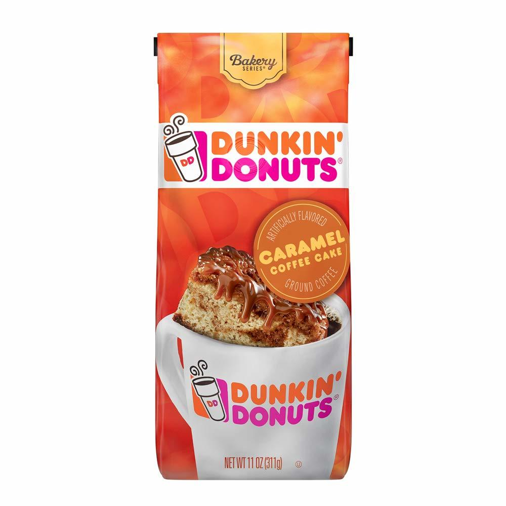 Dunkin' Bakery Series Caramel Coffee Cake Flavored Ground Coffee