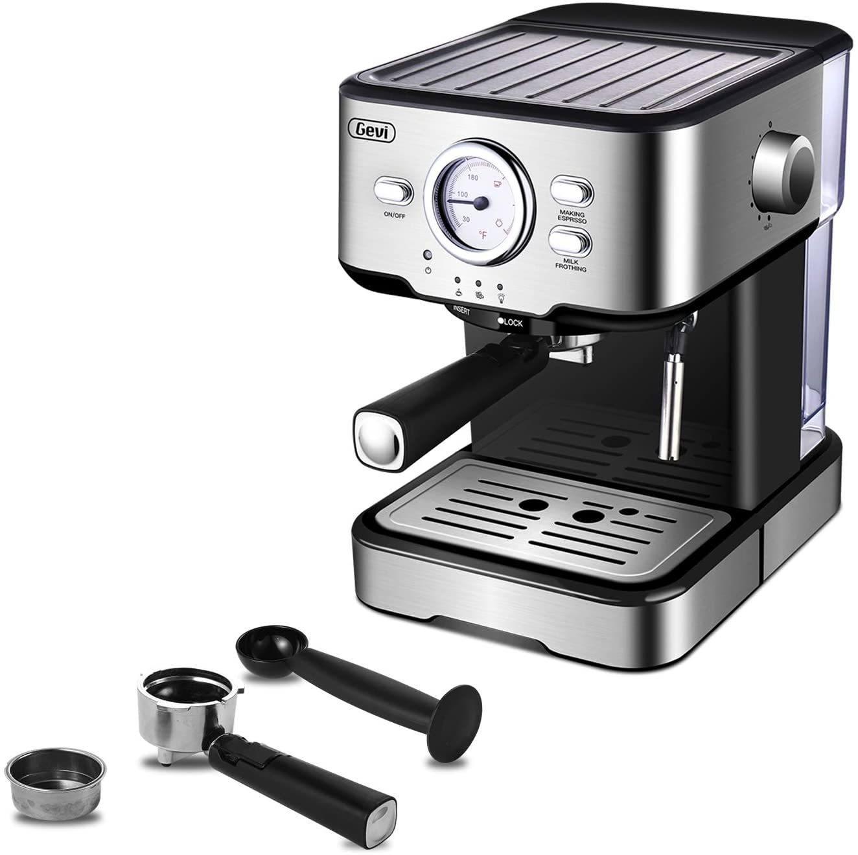 Gevi Espresso 15 Bar Coffee Machine