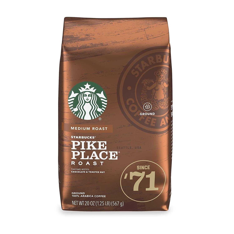 Starbucks Medium Pike Place Roast Ground Coffee