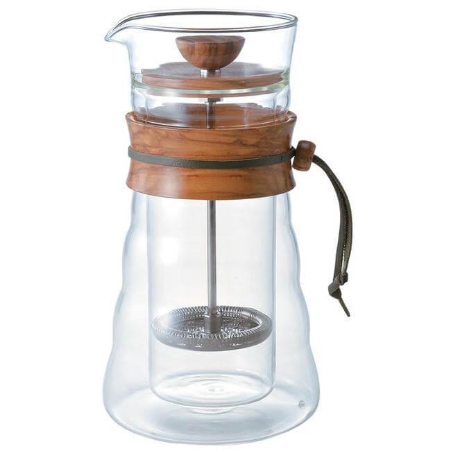 original_hario-double-glass-olive-wood-coffee-press